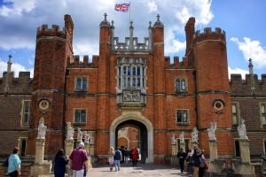 Gran Puerta del Palacio Hampton Court