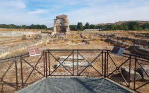 Iglesia y necrópolis de época visigoda