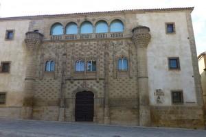 Palacio de Jabalquinto, uno de los edificios civiles más bellos de Baeza