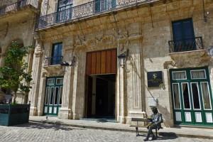 Palacio del Marqués de San Felipe y Santiago de Bejucal en la Plaza de San Francisco de Asís de La Habana
