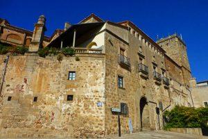 Palacio del Marqués de Mirabel, uno de los edificios civiles más importantes de Plasencia