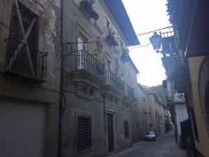 Palacio de los Marqueses de Villafranca en la Calle del Agua