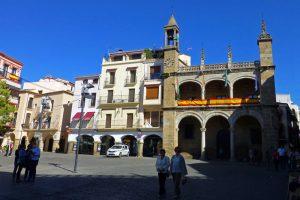 Ayuntamiento de Plasencia en el Palacio Municipal