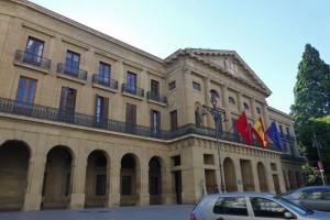 Palacio de Navarra, uno de los edificios civiles más emblemáticos de Pamplona