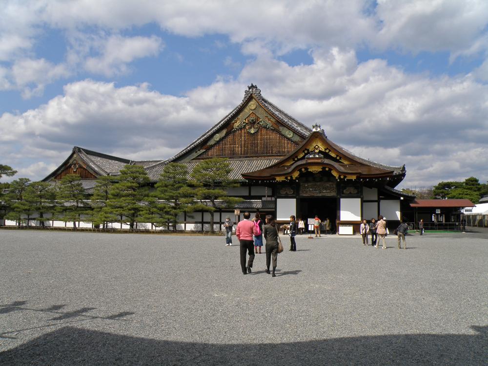 Palacio Ninomaru, el edificio más importante del Castillo de Nijo
