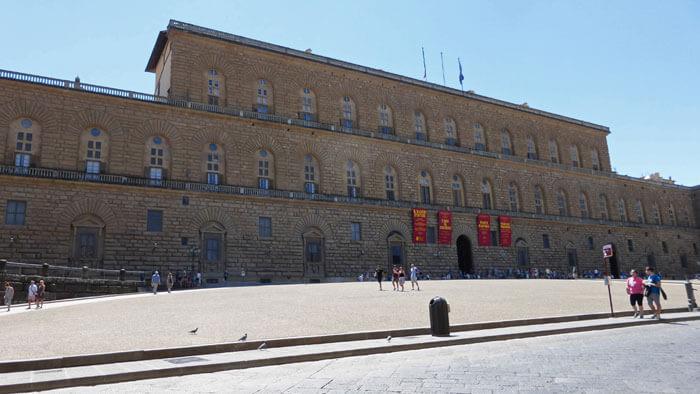 Palacio Pitti, alberga el mayor complejo museístico de Florencia