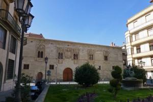 Palacio de los Momos en la Plaza de Zorrilla, edificios civiles de Zamora