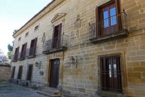 Palacio de Rubín Ceballos, el mejor ejemplo del estilo neoclásico que se puede ver en Baeza
