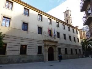 Palacio de San Esteban, edificios religiosos de Murcia