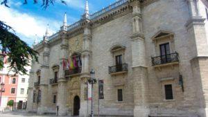 Palacio de Santa Cruz en Valladolid