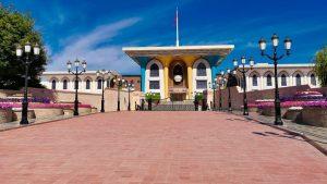 Palacio de Al Alam, residencia del sultán Qaboos bin Said