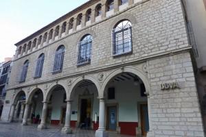 Palacio de los Vilches, uno de los edificios civiles más emblemáticos de Jaén