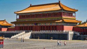 Ciudad Prohibida de Pekín, se encarga de su conservación el Museo del Palacio