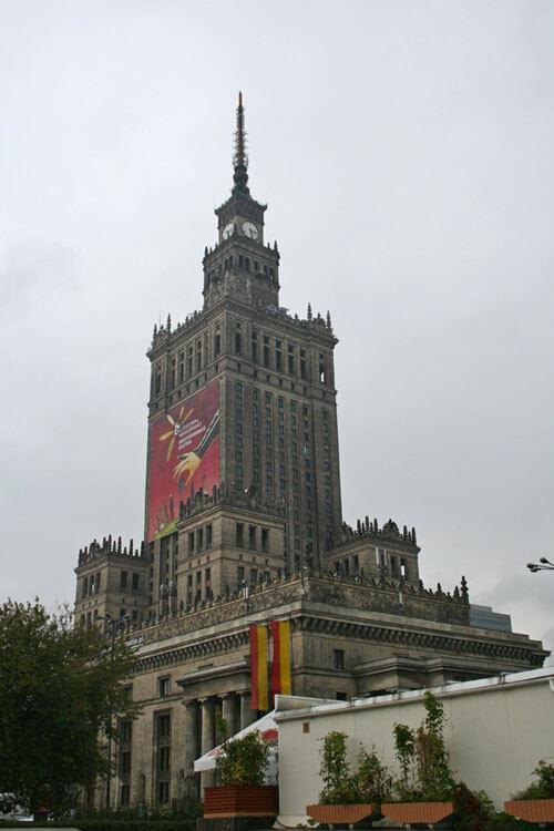 Palacio de Cultura y Ciencia de Varsovia