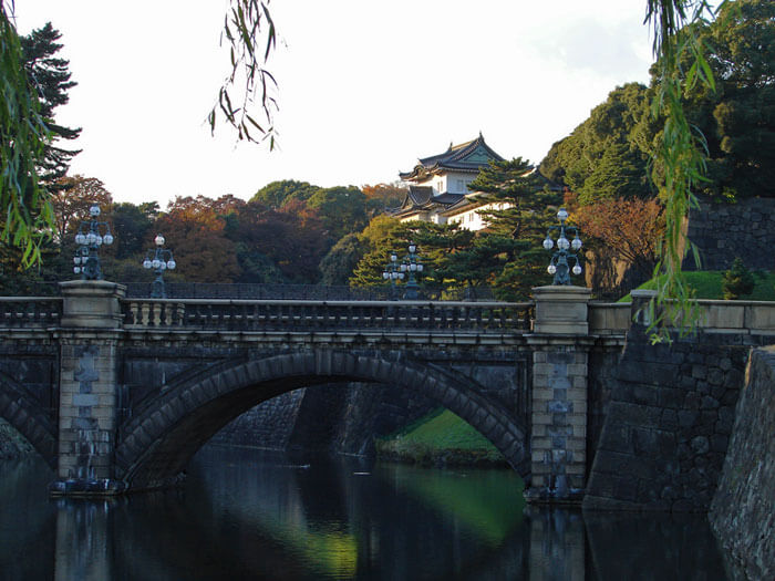 Entrada al Palacio Imperial de Tokio