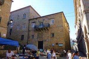 Antiguo Palacio Episcopal, hoy sede del Museo Arqueológico de Orense