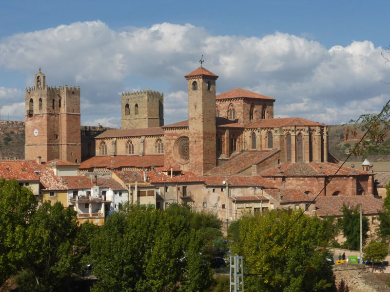 "Catedral de Sigüenza, conocida como ""Fortis Seguntina"""
