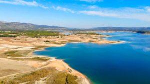 Pantano de Buendía, forma parte del Mar de Castilla