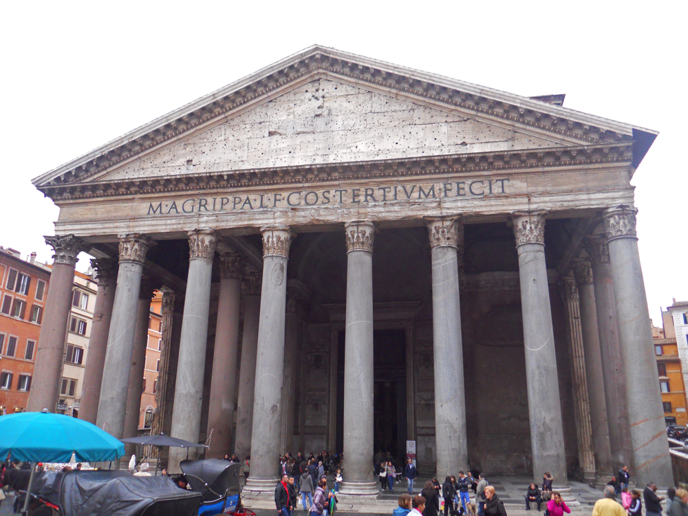 Panteón de Agripa en Roma