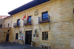 Parador de Turismo Gil Blas en la antigua Casa Barreda-Bracho