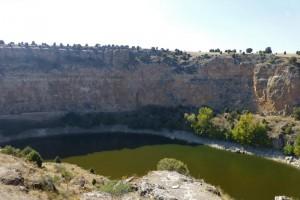 Paredes del cañón del río Duratón