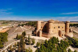 Castillo de Belmonte, principal monumento de la localidad