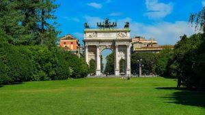 Parque Sempione, una de las atracciones de Milán más visitadas