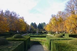 Parterre de la Fama en los Jardines del Real Sitio de San Ildefonso