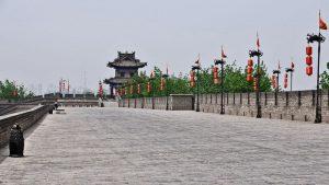 Paseo superior de la Muralla de Xian