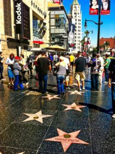 Paseo de la Fama en Hollywood