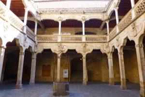 Patio Central de la Casa de las Conchas de Salamanca