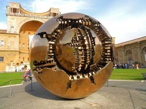 Patio de la Piña en los Museos Vaticanos