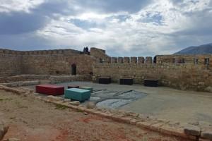 Patio de Armas del Castillo de Santa Catalina de Jaén
