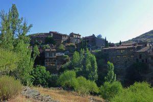 Vistas panorámicas de Patones de Arriba, uno de los pueblos más bonitos de Madrid