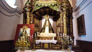 Virgen de las Angustias, patrona de Arévalo