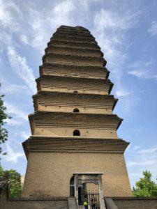 Pequeña Pagoda del Ganso Salvaje de Xian