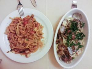 Spaguetti Frutti di Mare, qué comer en Venecia