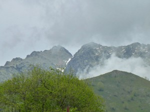 Pico Almanzor en la Sierra de Gredos, atracciones de Ávila