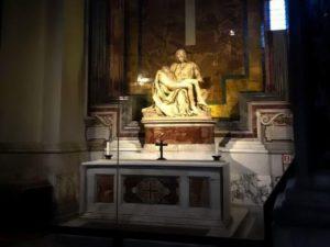«La Piedad» de Miguel Ángel en la Basílica de San Pedro