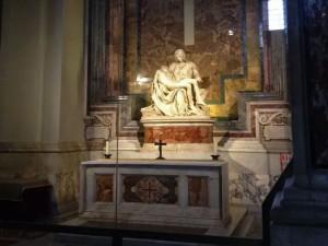 La Piedad de Miguel Ángel en la Basílica de San Pedro