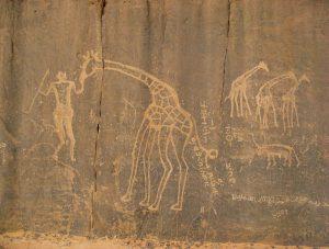 Pinturas rupestres en Tassili n'Ajjer