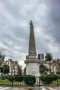 Pirámide de Mayo en Buenos Aires