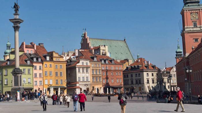 Guía turística con toda la información encesaria para visitar Varsovia