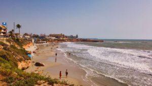 Playa Los Jesuitas, playa urbana de Pilar de la Horadada