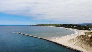 Playa de Merón, la más famosa de las playas de San Vicente de la Barquera