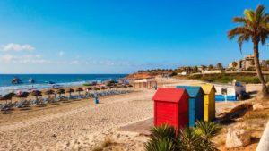 Playa Mil Palmeras, una de las mejores de Pilar de la Horadada