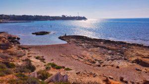 Playa fósil de Orihuela Costa
