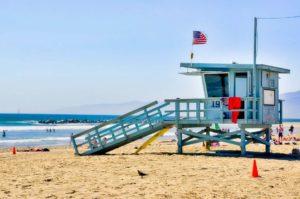 Playa de Santa Mónica, la famosa de Los Ángeles