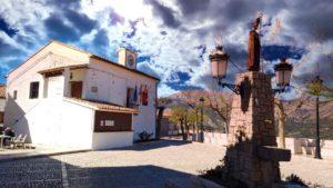 Ayuntamiento de Guadalest en la Plaza de San Gregorio