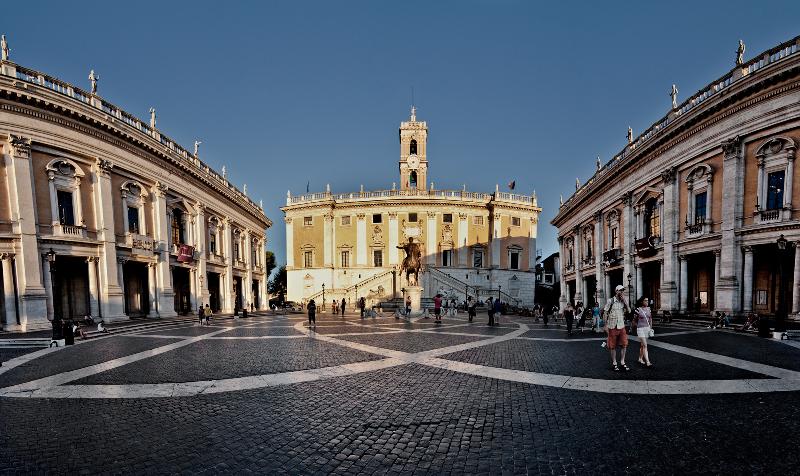 Plaza del Campidoglio y Museos Capitolinos. Foto de Diego Albero Román